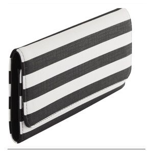 KFTK striped wallet
